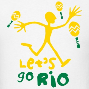 Let's go Rio_T-Shirt - Men's T-Shirt