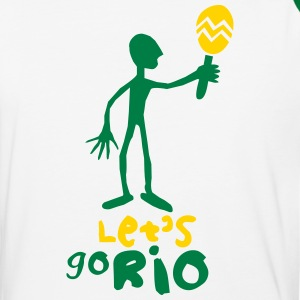 Let's go Rio - Baseball T-Shirt