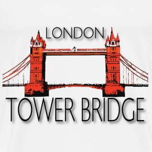 LONDON TOWER BRIDGE - Men's Premium T-Shirt