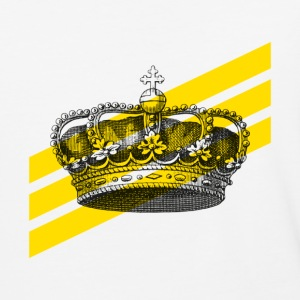 Stripe and Crown - Baseball T-Shirt