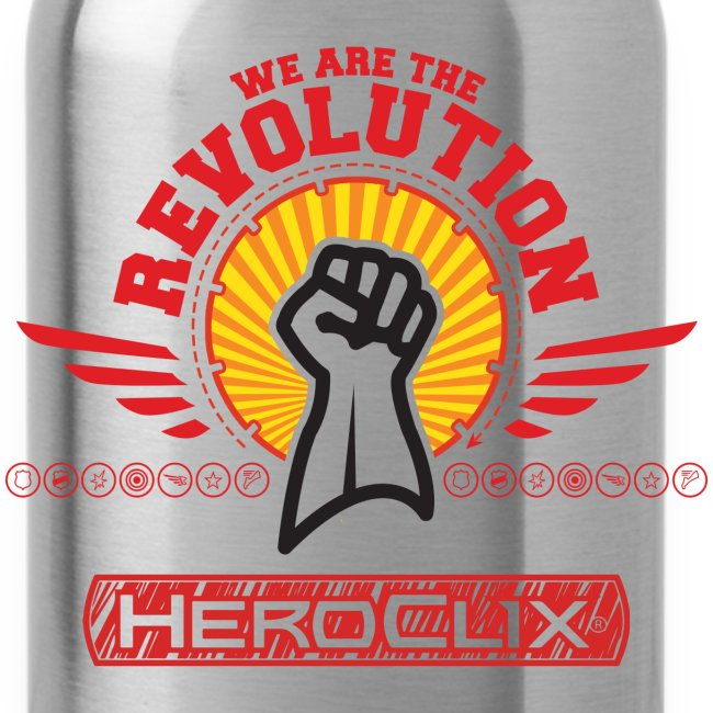 We are the Revolution Water Bottle