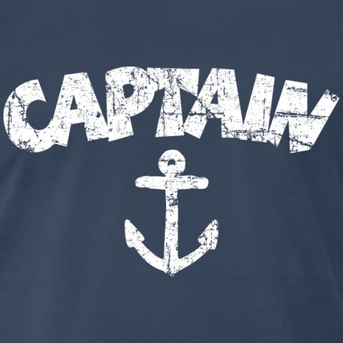 Captain Anchor Vintage White