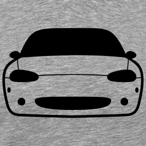 JDM Car eyes Miata NB | T-shirts JDM T-Shirts - Men's Premium T-Shirt