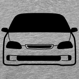JDM Car eyes EK4 | T-shirts JDM T-Shirts - Men's Premium T-Shirt