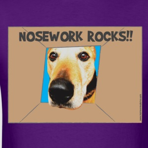 Nosework Rocks T-Shirts - Men's T-Shirt