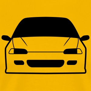 JDM Car eyes EG6 | T-shirts JDM T-Shirts - Men's Premium T-Shirt