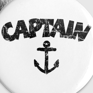 Captain Anchor Vintage Black Buttons - Small Buttons