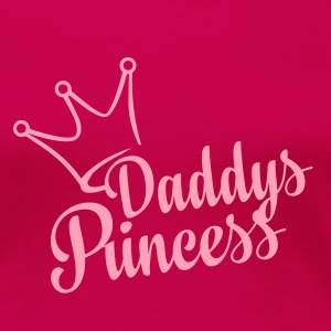 Daddys Princess (dh) - Women's Premium T-Shirt