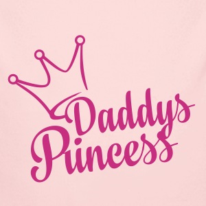 Daddys Princess (dh) - Long Sleeve Baby Bodysuit