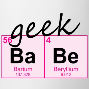 Periodic Table Geek BaBe - Contrast Coffee Mug