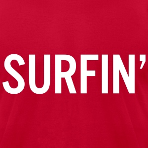 surfin T-Shirts - Men's T-Shirt by American Apparel