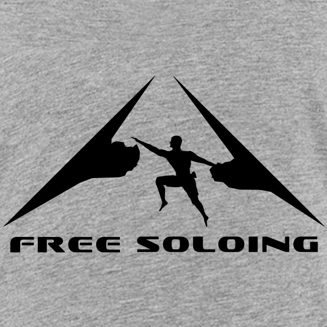 Free Soloing Climber