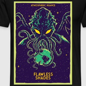 Flawless Shades Chutulu atmospheric nuance - Men's Premium T-Shirt