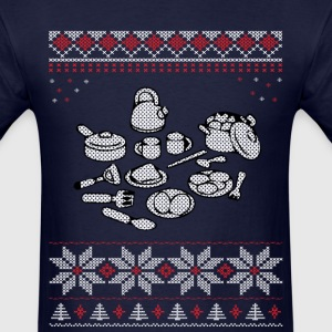 Cooking Christmas Sweater T-Shirts - Men's T-Shirt