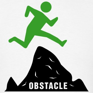 Achievement - Jumping Over Obstacles (Success) T-Shirts - Men's T-Shirt
