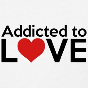 Addicted to LOVE (symbol) T-Shirts - Women's T-Shirt