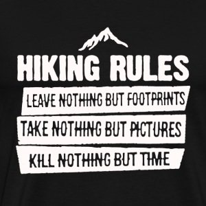 Hiker's Shirt - Men's Premium T-Shirt