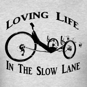 Slow Ride (Black Ink) - Men's T-Shirt