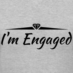 I'm Engaged - Women's V-Neck T-Shirt