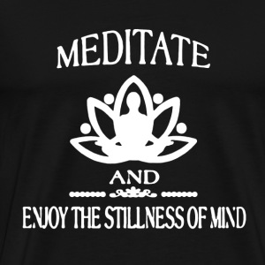 Meditate Shirt - Men's Premium T-Shirt