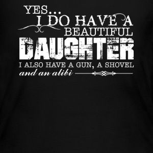 I Have Beautiful Daughter - Women's Long Sleeve Jersey T-Shirt