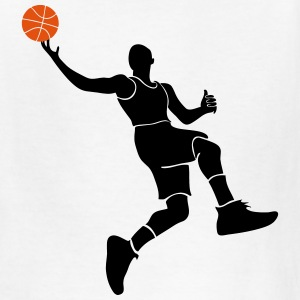 Basketball Player Kids' Shirts - Kids' T-Shirt
