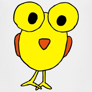 Big Eyed Bird Cartoon Baby & Toddler Shirts - Toddler Premium T-Shirt