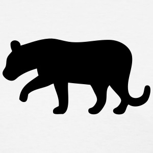Black Panther Silhouette T-Shirts - Women's T-Shirt