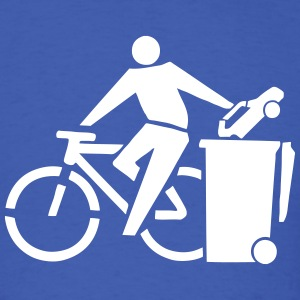 Ride Your Bike (Recycle Cars) Eco-Friendly Design T-Shirts - Men's T-Shirt