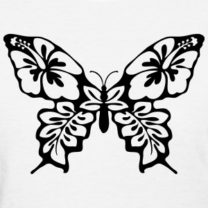Butterfly Art T-Shirts - Women's T-Shirt