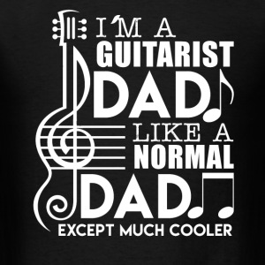 Guitarist Dad Cooler - Men's T-Shirt