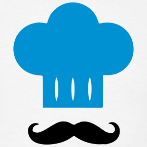 Kitchen Chef Hat / Mustache T-Shirts - Men's T-Shirt