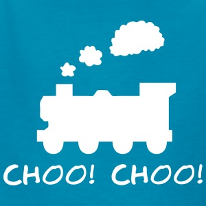 Choo! Choo! Steam Train Silhouette Kids' Shirts - Kids' T-Shirt