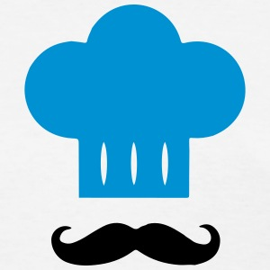 Kitchen Chef Hat / Mustache T-Shirts - Women's T-Shirt