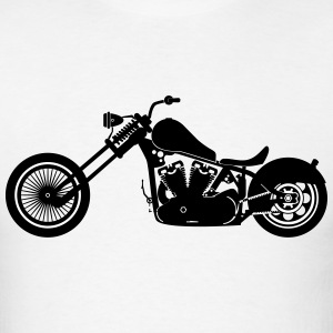Chopper Motorbike T-Shirts - Men's T-Shirt