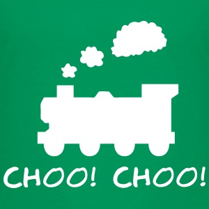 Choo! Choo! Steam Train Silhouette Baby & Toddler Shirts - Toddler Premium T-Shirt