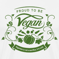 Design ~ Proud to be Vegan Green
