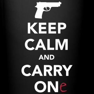 Keep Calm and Carry One - Pro Gun Mugs & Drinkware - Full Color Mug
