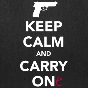 Keep Calm and Carry One - Pro Gun Bags & backpacks - Tote Bag