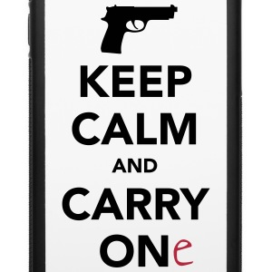 Keep Calm and Carry One - Pro Gun Phone & Tablet Cases - iPhone 6/6s Rubber Case