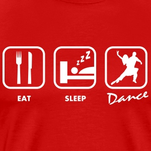 MUEVETE Eat sleep dance | Tshirts DANCE T-Shirts - Men's Premium T-Shirt