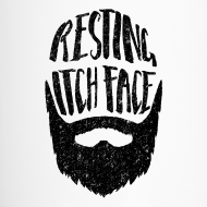 Design ~ Resting Itch Face - Funny Beard Pun