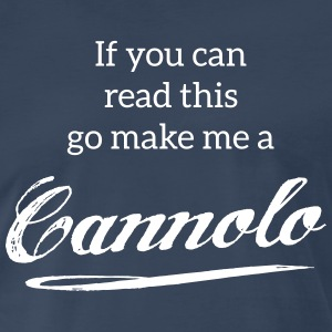 Cannolo | Tshirts FOOD T-Shirts - Men's Premium T-Shirt