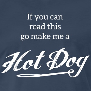 Hot Dog | Tshirts FOOD T-Shirts - Men's Premium T-Shirt