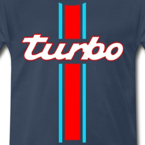 turbo stripes T-Shirts - Men's Premium T-Shirt