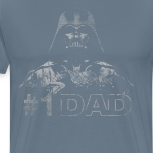 Star Wars #1 Dad Darth Vader Father's Day T-Shirt - Men's Premium T-Shirt