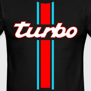 turbo stripes T-Shirts - Men's Ringer T-Shirt