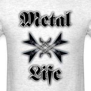 metal life - Men's T-Shirt