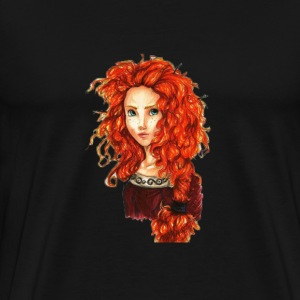 Beautiful Redhead - Men's Premium T-Shirt