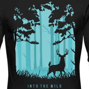 Into the Wild - Men's Long Sleeve T-Shirt by Next Level